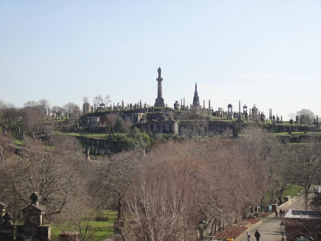 necropolis graveyard o que fazer em glasgow escocia