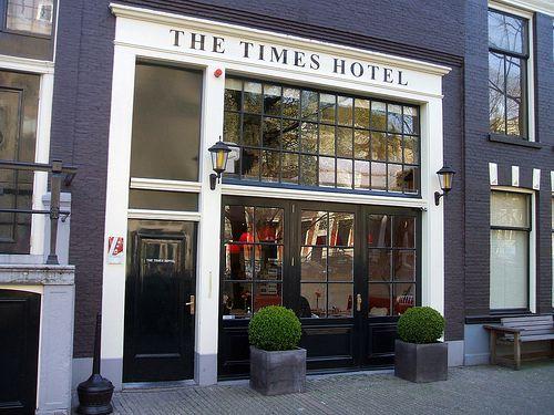 times-hotel-entrada onde ficar amsterdam