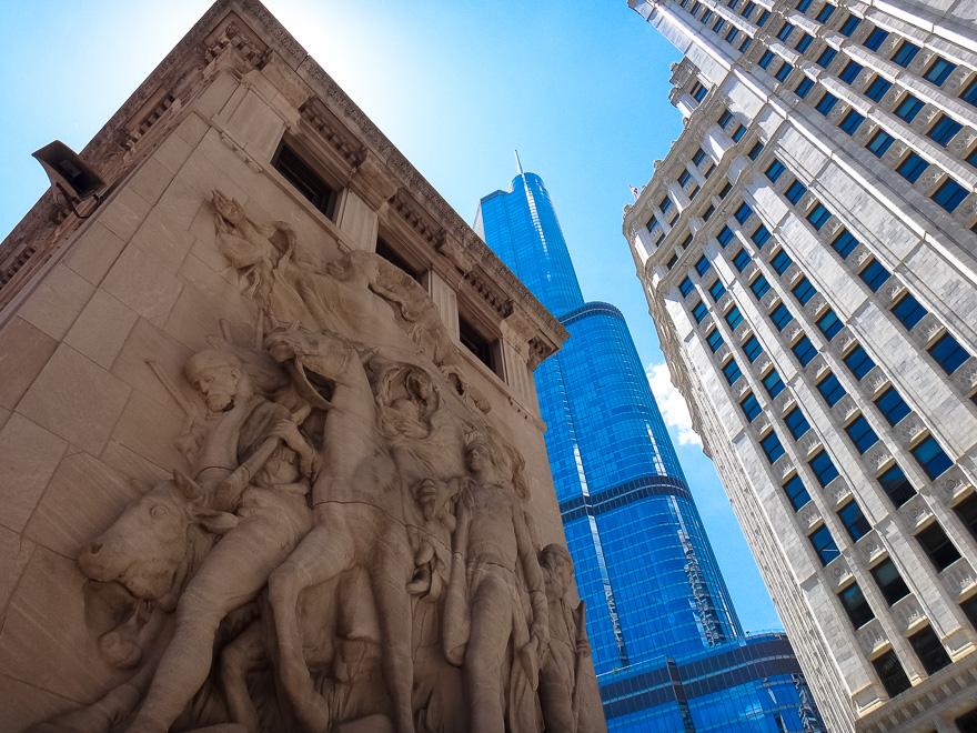 predios alto na disable bridge de chicago moderno e novo na cidade o que fazer em chicago