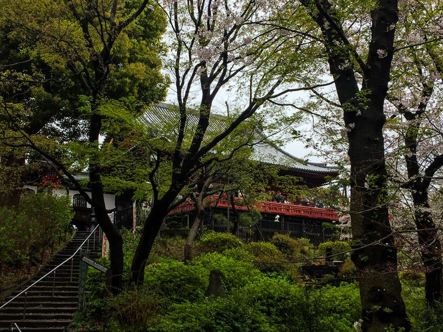 templo Kiyomizu Kannon ueno park toquio japao