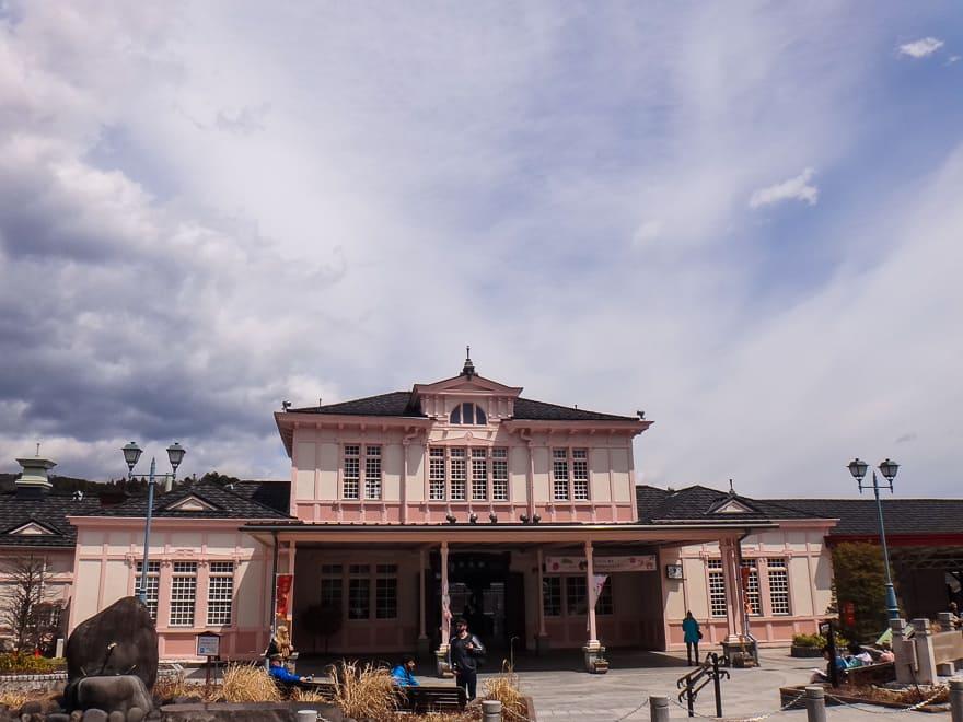 estação de trem de nikko japao bate bolta tokyo