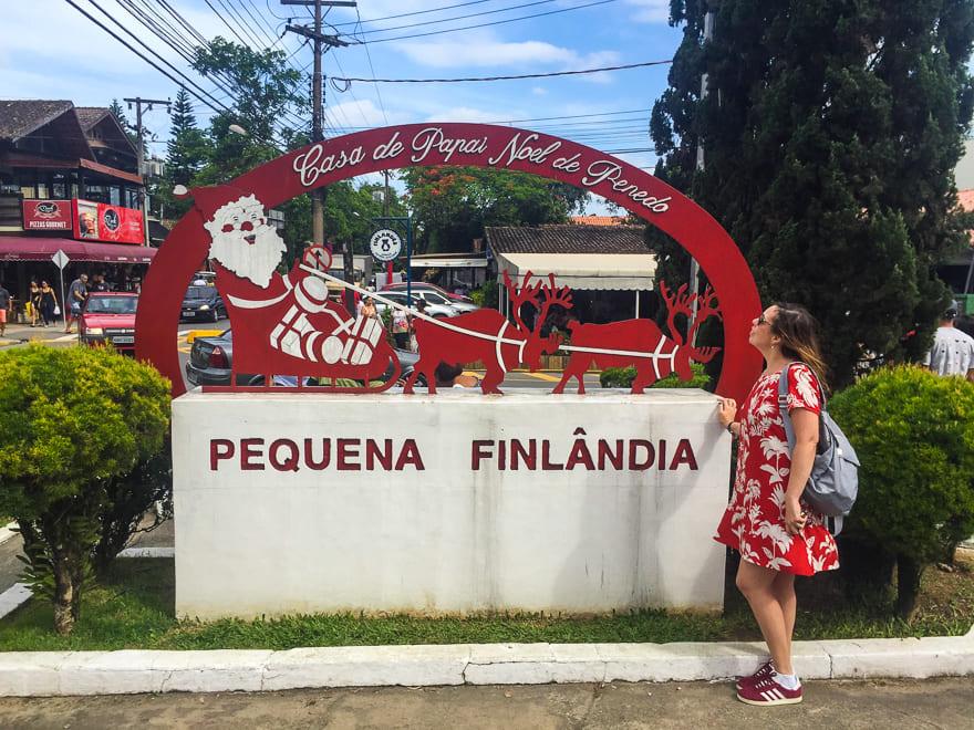 lugares para viajar no inverno no brasil placa pequena finlandia penedo - 6 lugares para viajar no inverno no Brasil